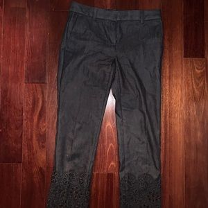 Ann Taylor Women's Petite Floral Jeans